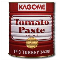 【送料無料】カゴメ  トマトペースト(トルコ産)3200g×1ケース(全6本)【KAGOME】