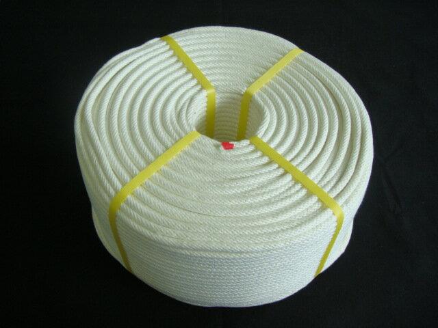 ロープ/送料無料/クレモナロープ/クレモナ(ビニロン)金剛打ロープ 8mm×300M