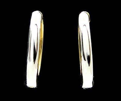 K14WG/K18 リバーシブル ピアリングイヤリング ピアス 耳飾り 18K 18金 ゴールド 普段使い 日常使い シンプル 記念日 メッセージ ギフト 贈り物 クリスマス xmas