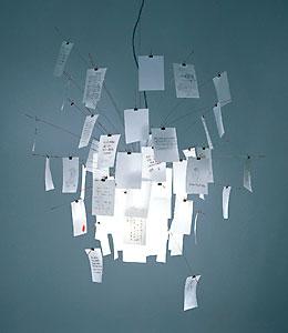 ZETTEL'Z A6/ツェッツルA6 Ingo Maurer/インゴマウラーデザイン 照明 ライト ペンダントランプ インゴマウラー 正規代理店 正規品保証 送料無料【新品】