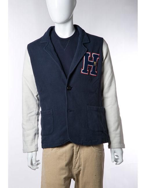 ハイドロゲン HYDROGEN ジャケット 2つボタン ノーベント メンズ 110030 ネイビー HYD値下