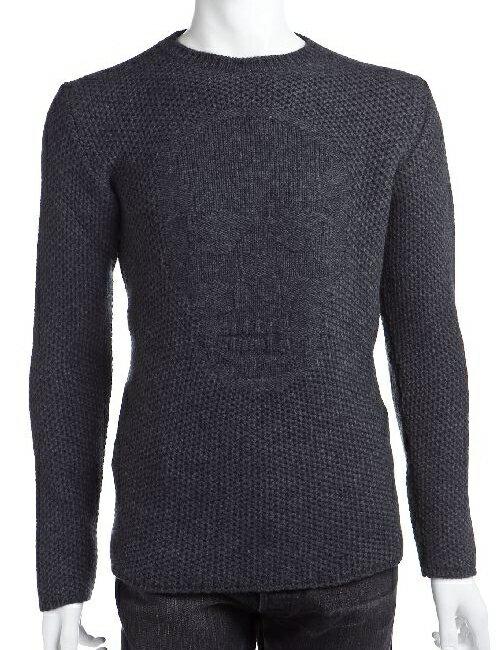 ルシアンペラフィネ lucien pellat-finet ルシアンペラフィネ セーター メンズ PIN07H ダークグレイ G-SALE アウトレット 目玉商品2