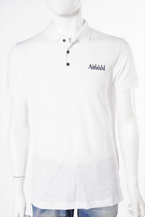 アルマーニ アルマーニジーンズ ARMANI JEANS アルマーニ ジーンズ ポロシャツ 半袖 メンズ C6M1A QK ホワイト 送料無料 楽ギフ_包装