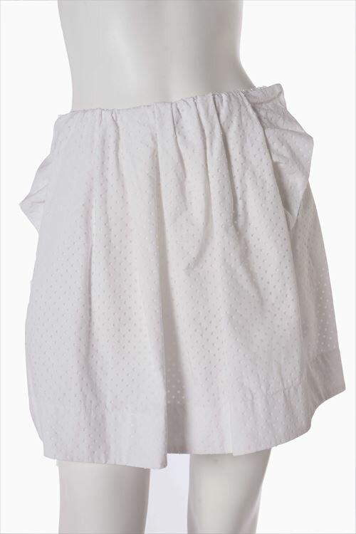 ヌメロヴェントゥーノ N°21 スカート ミニスカート レディース C123 0232 ホワイト 送料無料 楽ギフ_包装 2016SS_SALE