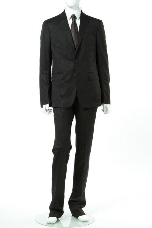 2017年春夏新作 ヴェルサーチコレクション VERSACE COLLECTION スーツ 2つボタン シングル メンズ V100101 VT00057 ブラック 送料無料