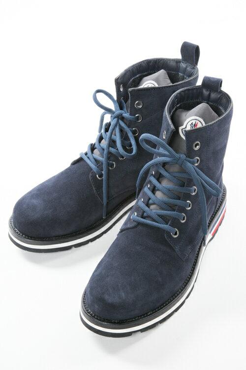 モンクレール MONCLER ブーツ ワークブーツ NEW VANCOUVER メンズ 1016200 019F1 ネイビー 送料無料