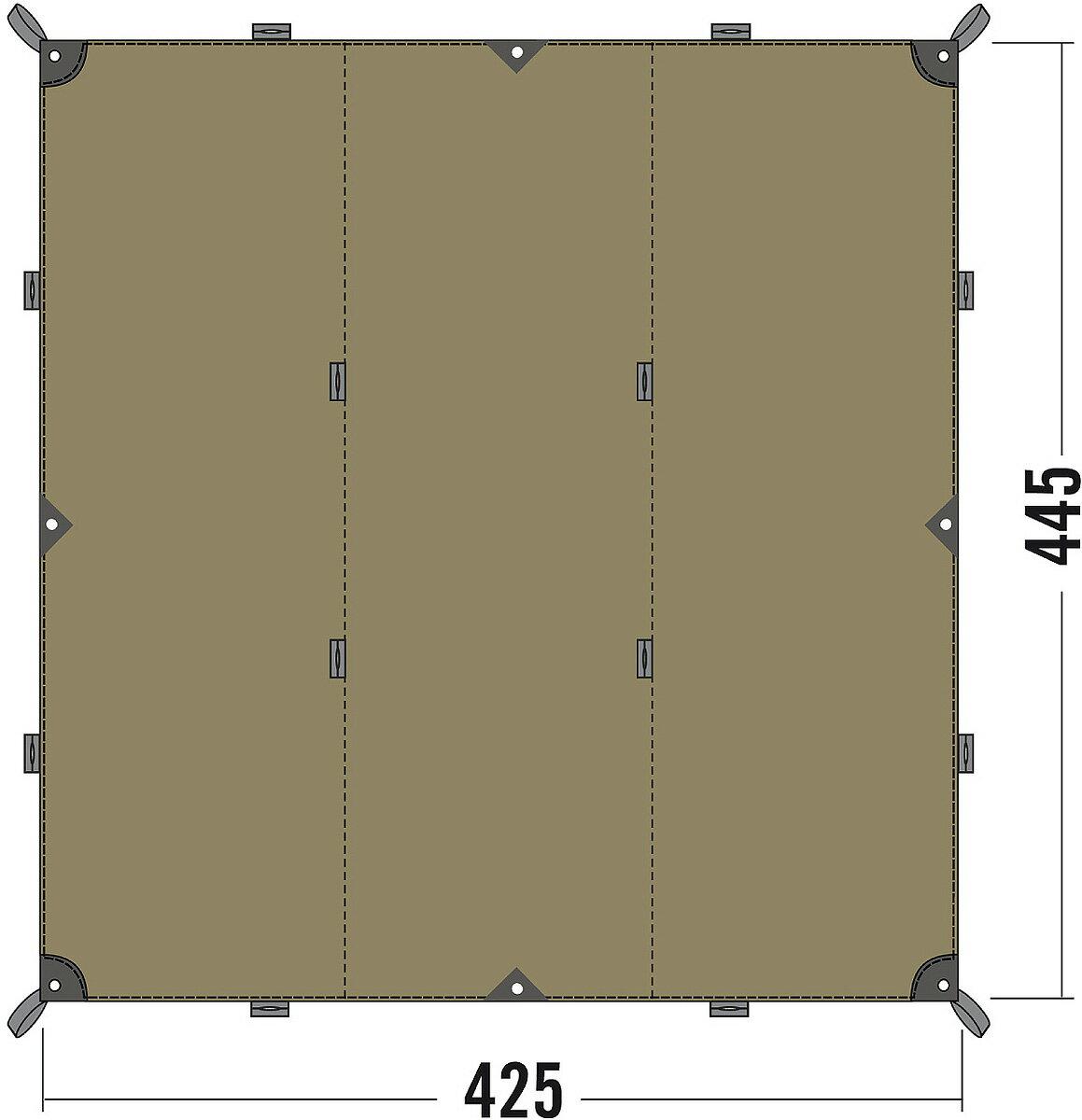 最新2017年入荷モデル TATONKA TARP 1TC タトンカ タープ オーニングテント