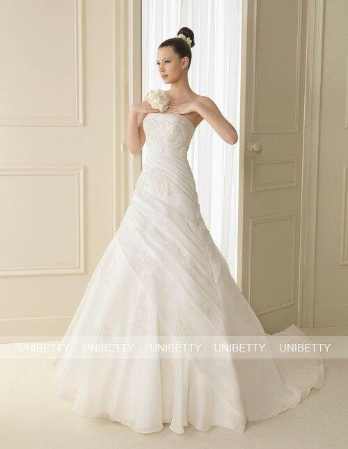 ウェディングドレス_Aライン_結婚式_WS2136