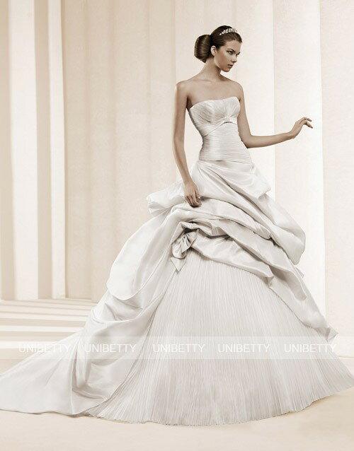ウェディングドレス サイズオーダー無料 オーダードレス ウエディング プリンセスライン WEDDING DRESS 結婚式 披露宴 演奏会 二次会 花嫁 WS2218