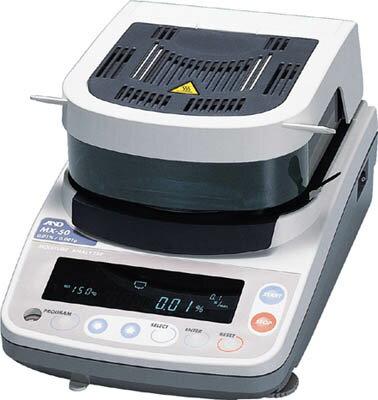【取寄】[A&D]A&D 加熱乾燥式水分計 最小質量表示0.002g MF50[生産加工用品 計測機器 水質・水分測定器 (株)エー・アンド・デイ]【TC】【TN】