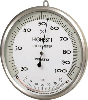 [佐藤]佐藤 温湿度計 ハイエスト1型 754000[生産加工用品 計測機器 温度計・湿度計 (株)佐藤計量器製作所]【TC】【TN】
