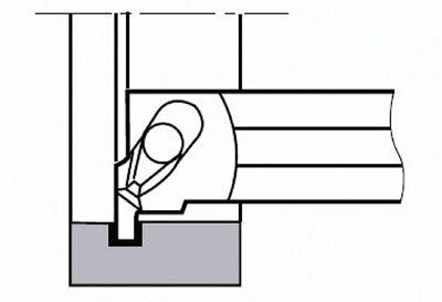 【タンガロイ】タンガロイ 内径用TACバイト CGXL16SC[タンガロイ ホルダー切削工具旋削・フライス加工工具ホルダー]【TN】【TC】