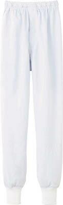 【サンペックス】サンペックス クールフリーデ男女兼用ホッピングパンツ ホワイト M CD633M[サンペックス ウェア環境安全用品保護具食品工場向けウェア]【TN】【TC】