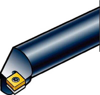 【サンドビック】サンドビック コロターン107 ポジチップ用超硬ボーリングバイト E16RSCLCR09R[サンドビック ホルダー切削工具旋削・フライス加工工具ホルダー]【TN】【TC】