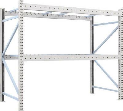 【取寄】【TRUSCO】TRUSCO 重量パレット棚1トン2300×1100×H2000単体 1D20B23112[TRUSCO パレットラック物流保管用品物品棚パレットラック]【TN】【TC】