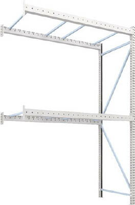 【取寄】【TRUSCO】TRUSCO パレットラック2トン用2300X1100XH3500 2段 連結 2D35L23112B[TRUSCO パレットラック物流保管用品物品棚パレットラック]【TN】【TC】
