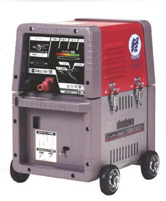 【新ダイワ】新ダイワ バッテリー溶接機 130Aメンテナンスフリー SBW130DMF[新ダイワ 溶接用品工事用品溶接用品電気溶接機]【TN】【TD】