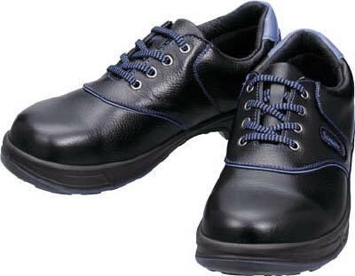 【シモン】シモン 安全靴 短靴 SL11-BL黒/ブルー 25.5cm SL11BL25.5[シモン 靴環境安全用品安全靴・作業靴安全靴]【D】