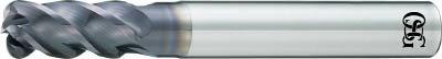 【OSG】OSG  FXコート 4刃 チタン合金加工用不等リードエンドミル UVX‐TI‐ UVXTI4FL12X36[OSG エンドミル切削工具旋削・フライス加工工具超硬ラジアスエンドミル]【TN】【TC】