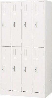 【取寄】【TRUSCO】TRUSCO スタンダードロッカー 8人用 900X515XH1790 W色 WL87[TRUSCO ALロッカーオフィス住設用品オフィス家具ロッカー]【TN】【TC】