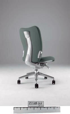 【取寄】【ナイキ】ナイキ ミドルバックチェアー 「エネア」 肘なし 布 グレー ZE510FGL[ナイキ 椅子オフィス住設用品オフィス家具オフィスチェア]【TN】【TC】