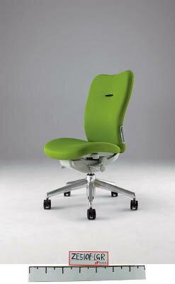 【取寄】【ナイキ】ナイキ ミドルバックチェアー 「エネア」 肘なし 布 ライトグリーン ZE510FLGR[ナイキ 椅子オフィス住設用品オフィス家具オフィスチェア]【TN】【TC】