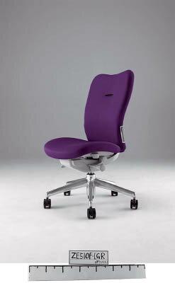 【取寄】【ナイキ】ナイキ ミドルバックチェアー 「エネア」 肘なし 布 バイオレット ZE510FVI[ナイキ 椅子オフィス住設用品オフィス家具オフィスチェア]【TN】【TC】