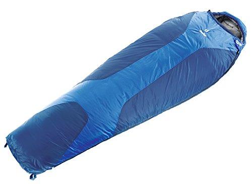 deuter(ドイター) 寝袋 オービット +5SL 【左ジッパー】 コバルト×スティール 身長170cmまで用 [最低使用温度0度] DS37420-3310