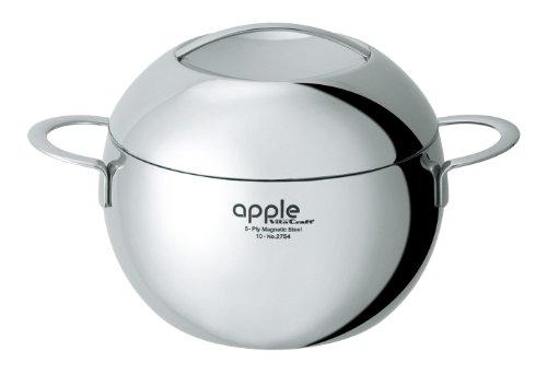 ビタクラフト 両手 鍋 アップル 20cm 3.6L