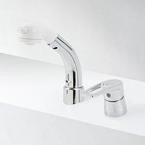 KVK 洗面化粧室 【KM8029ZT】 寒冷地用 シングルレバー式洗髪シャワー 傾斜タイプ [新品]【RCP】