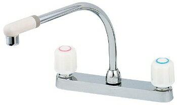 水道材料 カクダイ 2ハンドル混合栓 【151-005】[新品]【RCP】