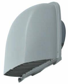 メルコエアテック 換気扇 【AT-250FGSD5】 外壁用(ステンレス製) 深形フード(ワイド水切タイプ) 縦ギャラリ 防火ダンパー付(72℃) [新品]【RCP】