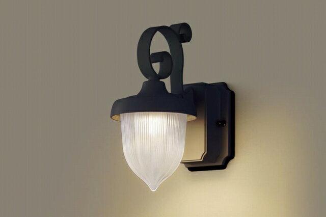 信用第一、品質第一 パナソニック 照明 壁直付型 LED(電球色) ポーチライト 60形電球1灯相当・密閉型・拡散タイプ 防雨型 【LGW80236LE1】[新品]【RCP】
