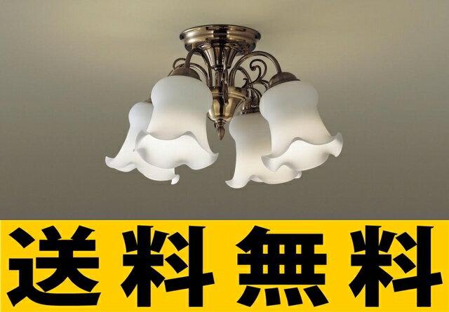 パナソニック 照明 天井直付型 LED(電球色) シャンデリア 50形電球4灯相当 ?6畳 【LGB57414】[新品]【RCP】