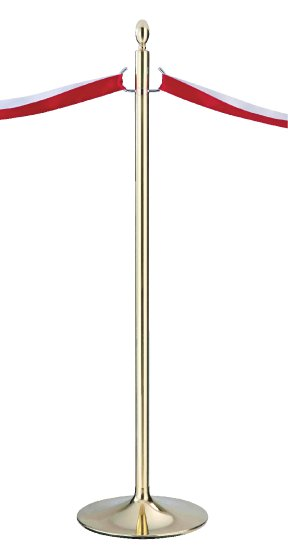 シロクマ テープカットポール 金 【FPP-2080】[新品]【RCP】