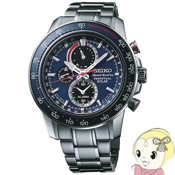 [逆輸入]SEIKO(セイコー) ソーラー 腕時計 スポーチュラ アラーム クロノグラフ パーペチュアル SSC355P1【smtb-k】【ky】
