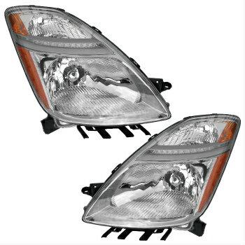 【人気のクラシックショート】 トヨタ プリウス ヘッドライト 05-08(FROM:11,05) TOYOTA PRIUS HEADLIGHTS FRONT LAMPS PAIR SET  5月8日(FROM:11,05)TOYOTAプリウスヘッドライトFRONT LAMPS PAIR SET