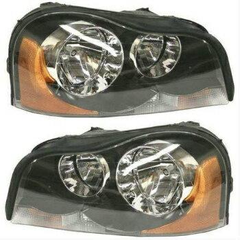 とても可愛い ボルボ ヘッドライト NEW SET OF 2 HEADLIGHT LEFT & RIGHT FITS 2003-2014 VOLVO XC90  2ヘッドライト左右の新しいセットは、2003年から2014年VOLVO XC90をFITS