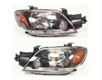 秋新作 三菱 アウトランダー ヘッドライト MITSUBISHI Outlander 2003-2005 Front head lamps lights LEFT+RIGHT ONE SET Europe  三菱アウトランダー2003-2005フロントヘッドランプは、LEFT + RIGHT ONE SETヨーロッパを点灯します