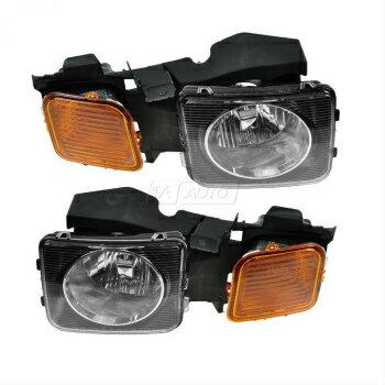 ぜっこうの ハマー ヘッドライト Headlights Headlamps Left & Right Pair Set NEW for 06-10 Hummer H3 H3T  ヘッドライトヘッドランプ左右ペアセットNEW 06-10ハマーH3 H3Tのため