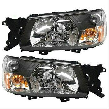 限定品 スバル フォレスター ヘッドライト 05 Subaru Forester Headlights Headlamps Pair Set Left+Right Halogen New  05スバルフォレスターヘッドライトヘッドランプペアセット左+右ハロゲン新