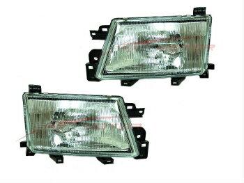 よく売れる スバル フォレスター ヘッドライト 1999-2000 Subaru Forester Head Lights Lamps Driver & Passenger Side LH+RH  1999-2000スバルフォレスターヘッドライトランプドライバー&助手席側LH + RH
