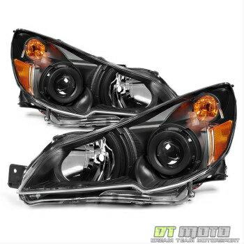今週激安商品 スバル レガシー ヘッドライト [Black Design] 2010-2014 Subaru Legacy/ Outback Headlights Headlamps Left+Right  【ブラックデザイン] 2010-2014スバルレガシィ/アウトバックヘッドライトヘッドランプ左+右