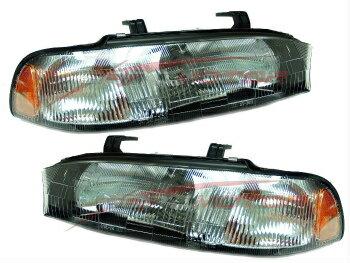 驚きの低価格 スバル レガシー ヘッドライト 1995-05/1996 Subaru Legacy Head Lights Lamps Driver & Passenger Side LH+RH  / 1996年1995年から1905年スバルレガシィヘッドライトランプドライバー&助手席側LH + RH