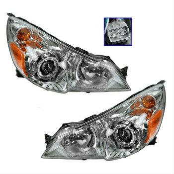 特売バーゲン スバル レガシー ヘッドライト Headlight Headlamp LH & RH Pair Set of 2 for 10-12 Subaru Legacy Outback  ヘッドライトヘッドランプLH&10-12スバルレガシィアウトバックのための2のRHペアセット