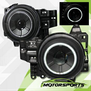 【高級】 トヨタ FJクルーザー ヘッドライト [CCFL Halo] 2007-2014 Toyota FJ Cruiser Black CCFL Projector Headlights Pair  【CCFLヘイロー] 2007-2014トヨタFJクルーザーブラックCCFLプロジェクターヘッドライトペア