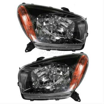 限定製作 トヨタ RAV4 ヘッドライト Headlights Headlamps LH Left RH Right Set Pair for 01- 03 Toyota Rav4 Sport  01- 03トヨタRAV4スポーツ用ヘッドライトヘッドランプLH左RH右セットペア