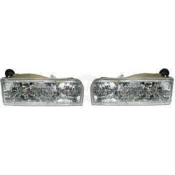 最新の正品 フォード リンカーン ヘッドライト Headlights Headlamps Composite Pair Set for 95-97 Lincoln Town Car  95-97リンカーンタウンカー用ヘッドライトヘッドランプコンポジットペアセット