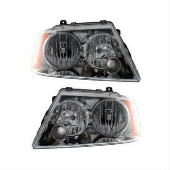 上品 フォード リンカーン ヘッドライト New Head Lamp Assembly Set of 2 Left & Right Side Fits 2003 Lincoln Navigator  2左&右サイドの新しいヘッドランプアセンブリセットが2003リンカーンナビゲーターに適合します