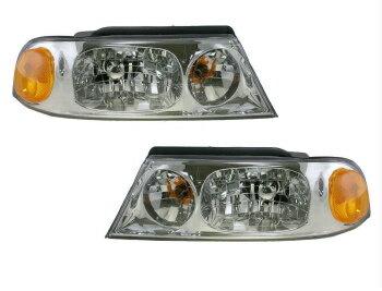 【最安値挑戦中】 フォード リンカーン ヘッドライト 98-02 Lincoln Navigator Composite Headlights Headlamps Pair Set Left LH Right RH  98-02リンカーンナビゲーター複合ヘッドライトヘッドランプペアセット左LH右RH
